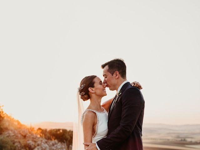 La boda de Carlos y Isabel en Caracuel De Calatrava, Ciudad Real 72