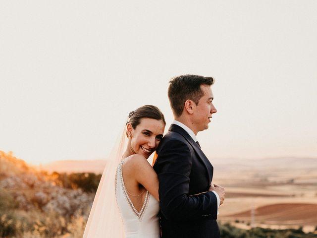 La boda de Carlos y Isabel en Caracuel De Calatrava, Ciudad Real 74