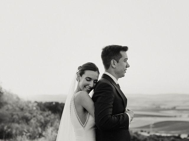 La boda de Carlos y Isabel en Caracuel De Calatrava, Ciudad Real 75