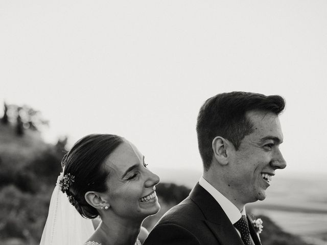 La boda de Carlos y Isabel en Caracuel De Calatrava, Ciudad Real 78