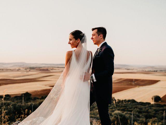 La boda de Carlos y Isabel en Caracuel De Calatrava, Ciudad Real 83