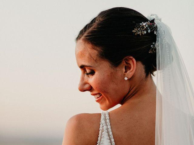 La boda de Carlos y Isabel en Caracuel De Calatrava, Ciudad Real 86