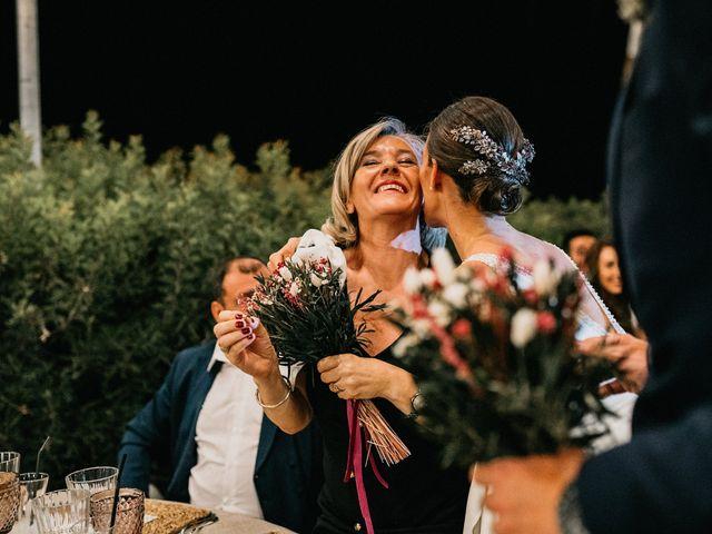 La boda de Carlos y Isabel en Caracuel De Calatrava, Ciudad Real 95