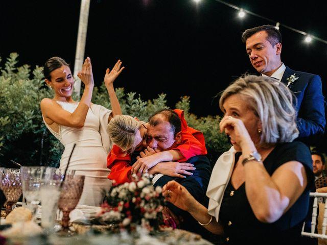 La boda de Carlos y Isabel en Caracuel De Calatrava, Ciudad Real 96