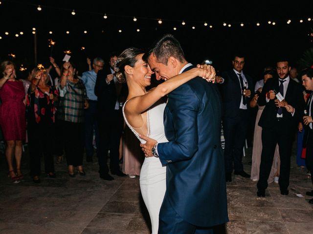 La boda de Carlos y Isabel en Caracuel De Calatrava, Ciudad Real 100