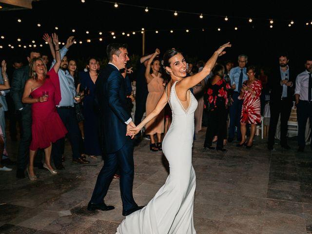 La boda de Carlos y Isabel en Caracuel De Calatrava, Ciudad Real 102