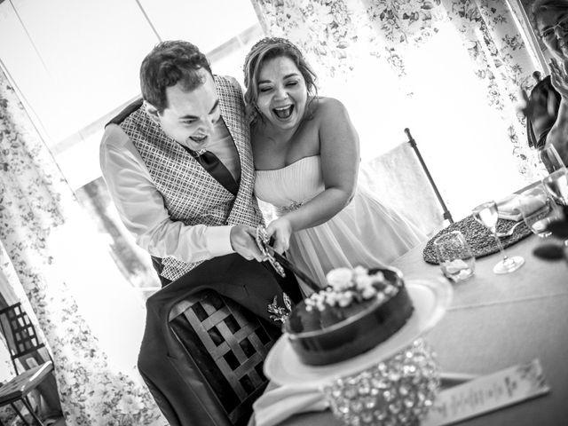 La boda de Nacho y Myllén  en Tarancon, Cuenca 21