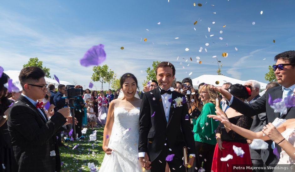La boda de Yae y Alin en Matapozuelos, Valladolid