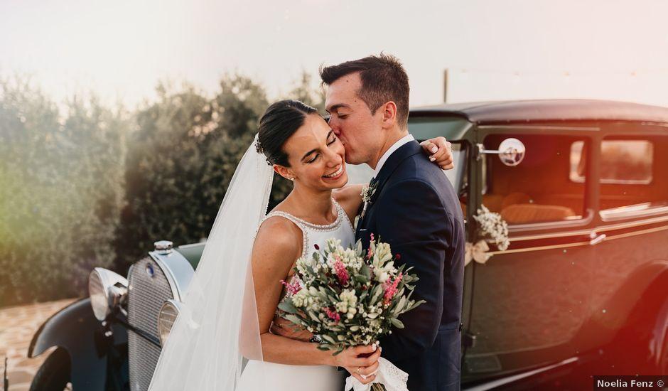La boda de Carlos y Isabel en Caracuel De Calatrava, Ciudad Real