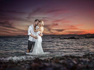 La boda de Keka y David