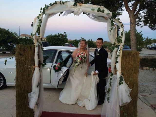 La boda de José y Diana  en El Poblet, Alicante 8