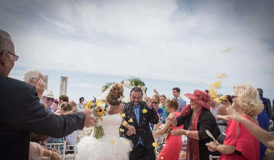 La boda de Rocio  y Jesús  en Chiclana De La Frontera, Cádiz