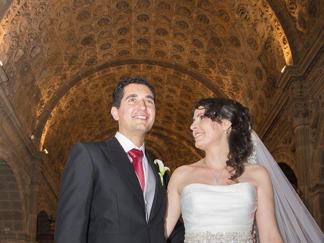 La boda de Alfonso y Isabel en Siguenza, Guadalajara 11