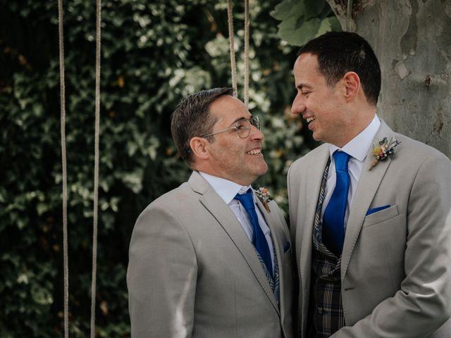 La boda de Isaac y Pedro