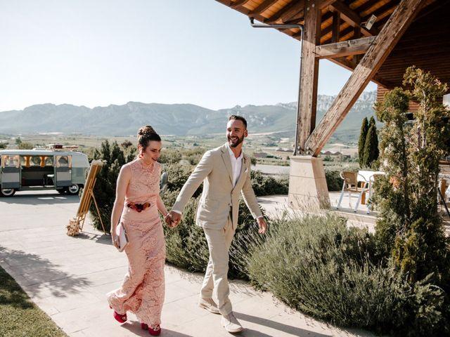 La boda de David y Nerea en Laguardia, Álava 44