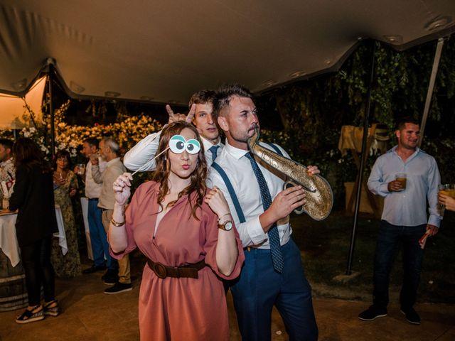 La boda de David y Nerea en Laguardia, Álava 132