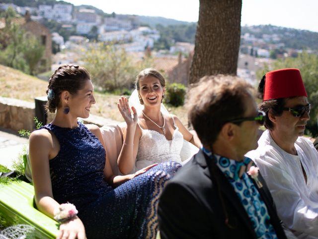 La boda de Javi y Nora en Santa Coloma De Farners, Girona 24
