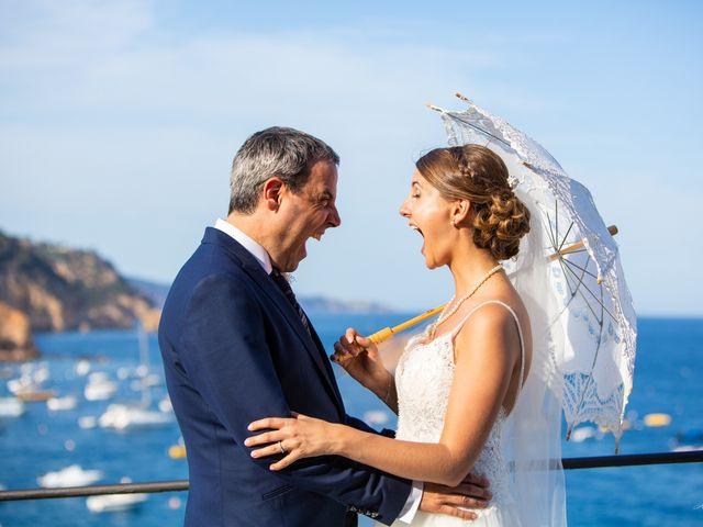 La boda de Javi y Nora en Santa Coloma De Farners, Girona 43
