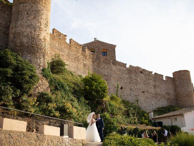 La boda de Javi y Nora en Santa Coloma De Farners, Girona 45