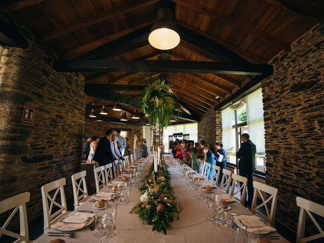 La boda de Adrián y Tatiana en Meira, Lugo 44