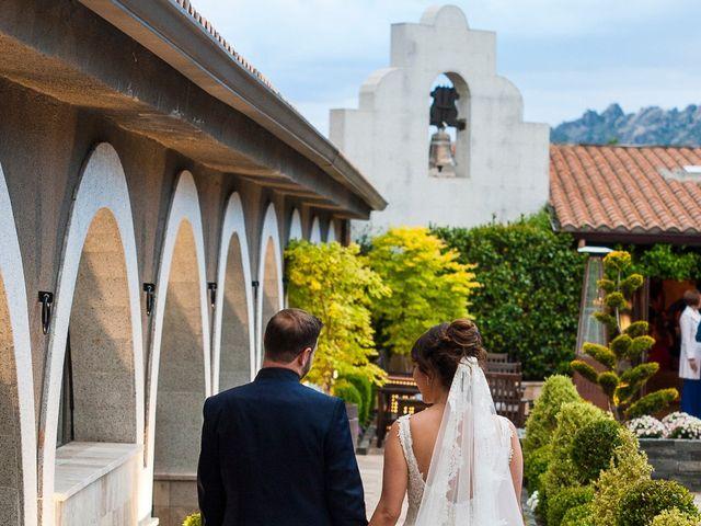La boda de Miguel y Maite en Miraflores De La Sierra, Madrid 27