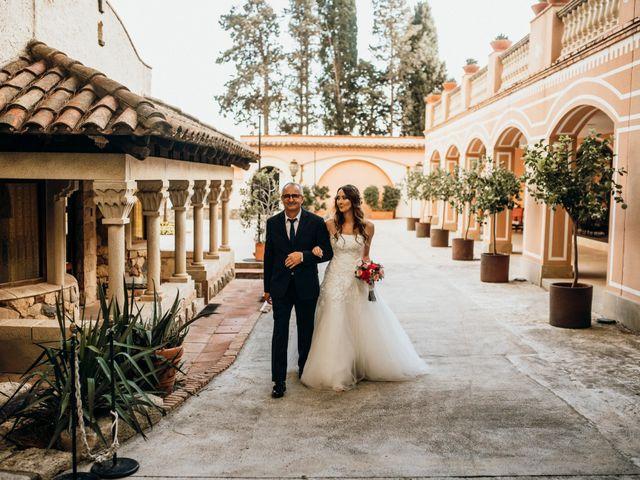 La boda de Sebastian y Maria en Montbrio Del Camp, Tarragona 24