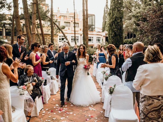 La boda de Sebastian y Maria en Montbrio Del Camp, Tarragona 25