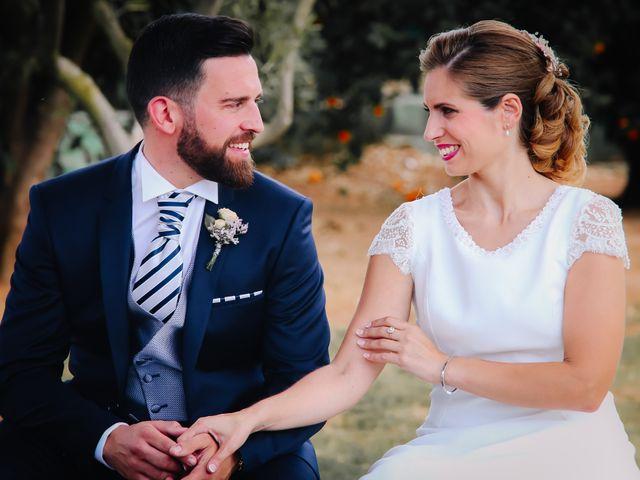 La boda de David y Marta en L' Ènova, Valencia 62