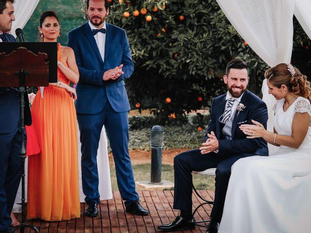La boda de David y Marta en L' Ènova, Valencia 65