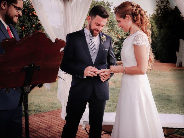 La boda de David y Marta en L' Ènova, Valencia 72
