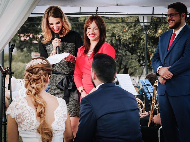 La boda de David y Marta en L' Ènova, Valencia 73