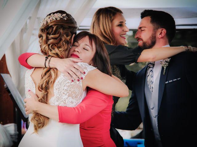 La boda de David y Marta en L' Ènova, Valencia 74