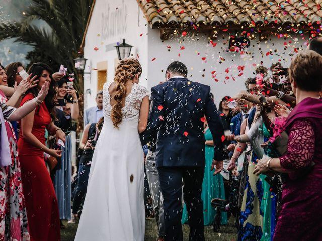 La boda de David y Marta en L' Ènova, Valencia 84