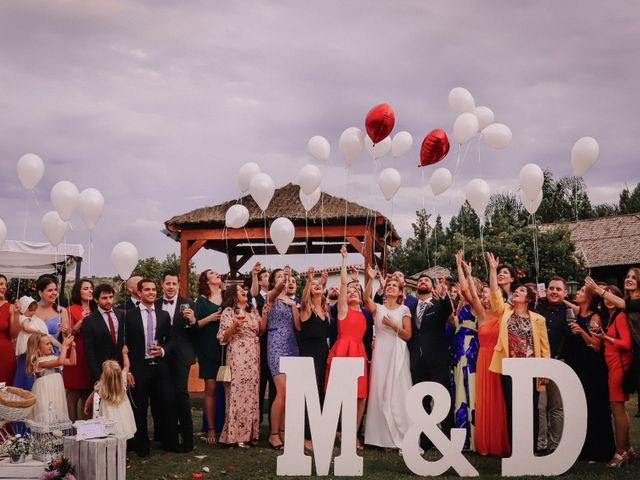 La boda de David y Marta en L' Ènova, Valencia 89