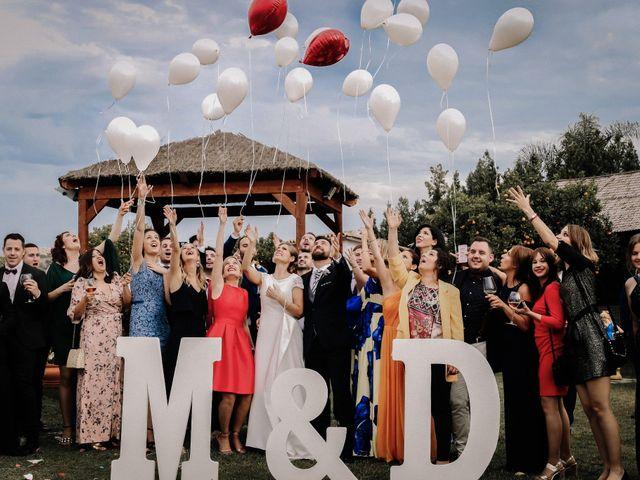 La boda de David y Marta en L' Ènova, Valencia 91