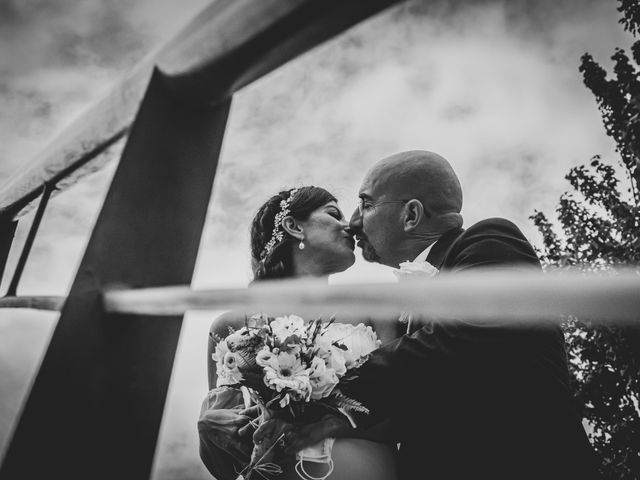 La boda de Antonio y Atta