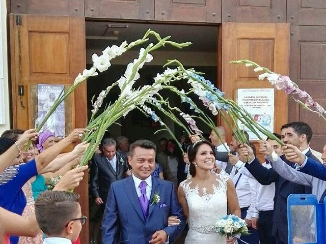 La boda de Alberto y Elisabet en San Bartolome De Tirajana, Las Palmas 8