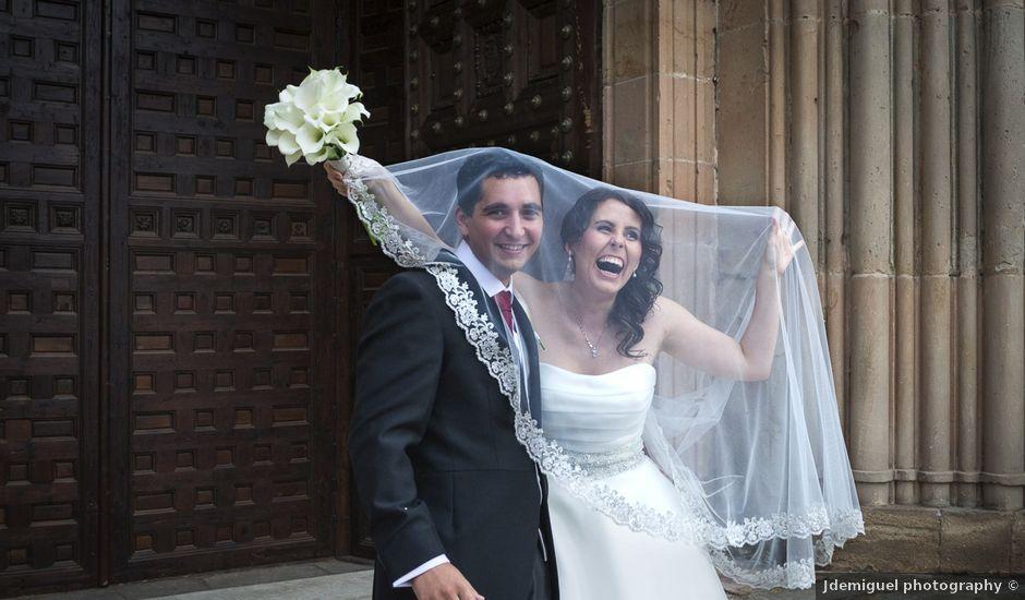 La boda de Alfonso y Isabel en Siguenza, Guadalajara