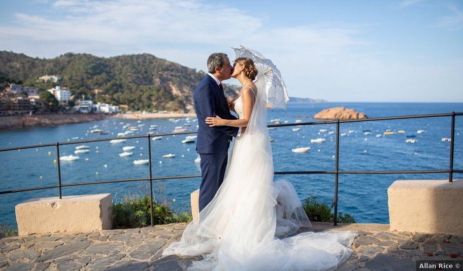 La boda de Javi y Nora en Santa Coloma De Farners, Girona