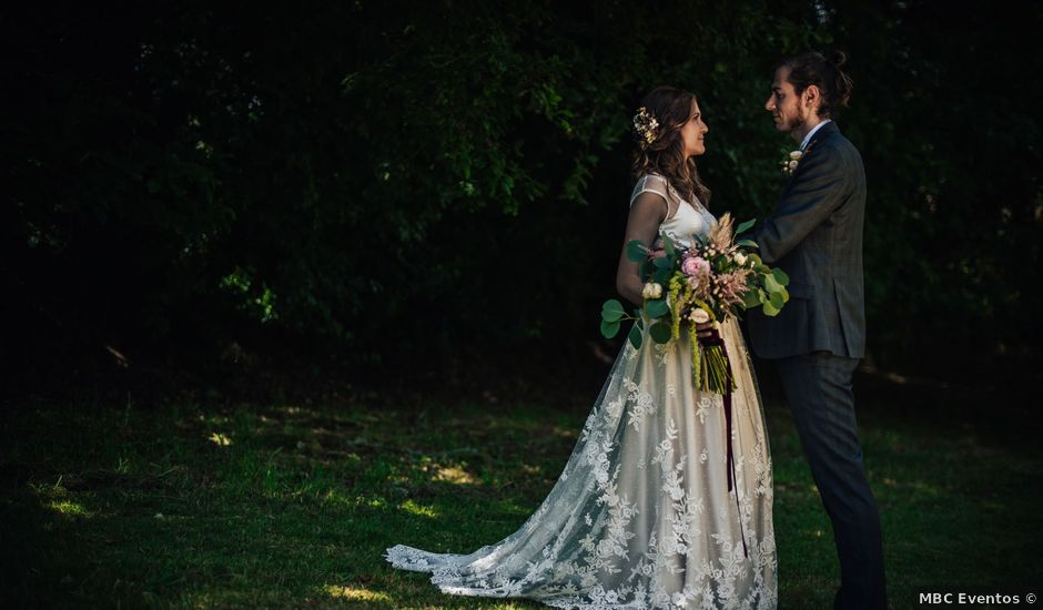 La boda de Adrián y Tatiana en Meira, Lugo