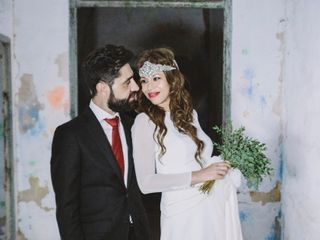 La boda de Cortes y José Benito