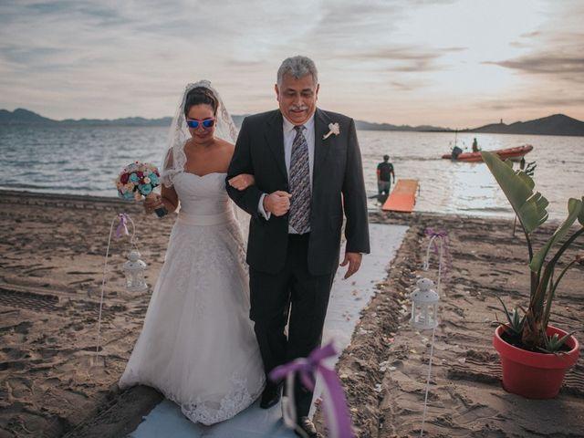 La boda de Gastón y Alejandra en La Manga Del Mar Menor, Murcia 12