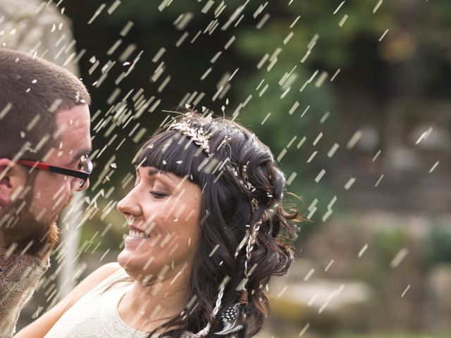 La boda de Sergio y Pilar en Baños De Montemayor, Cáceres 3