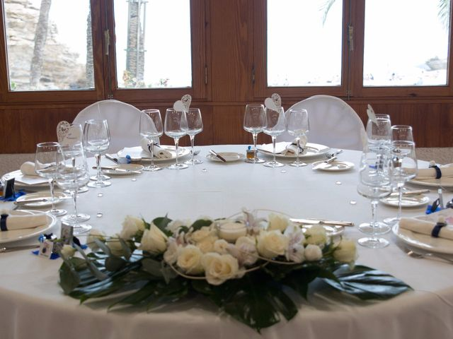 La boda de Víctor y Natacha en La/villajoyosa Vila Joiosa, Alicante 17
