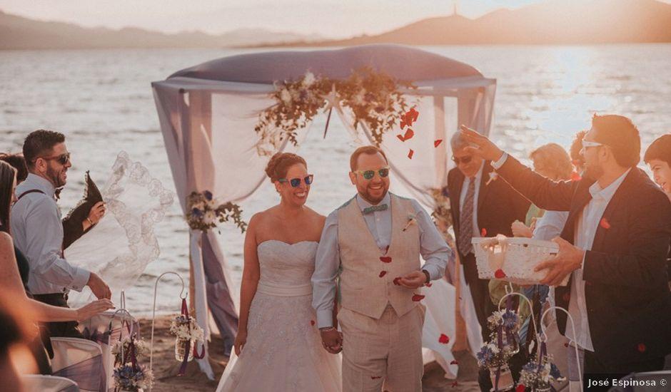La boda de Gastón y Alejandra en La Manga Del Mar Menor, Murcia