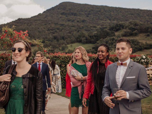 La boda de Daniel y Delphine en Quejana, Álava 50