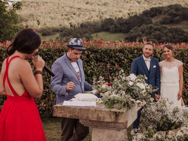 La boda de Daniel y Delphine en Quejana, Álava 69