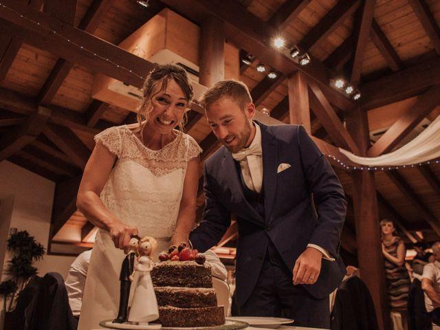 La boda de Daniel y Delphine en Quejana, Álava 108