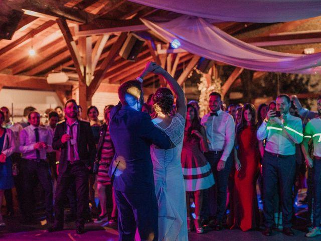 La boda de Daniel y Delphine en Quejana, Álava 116