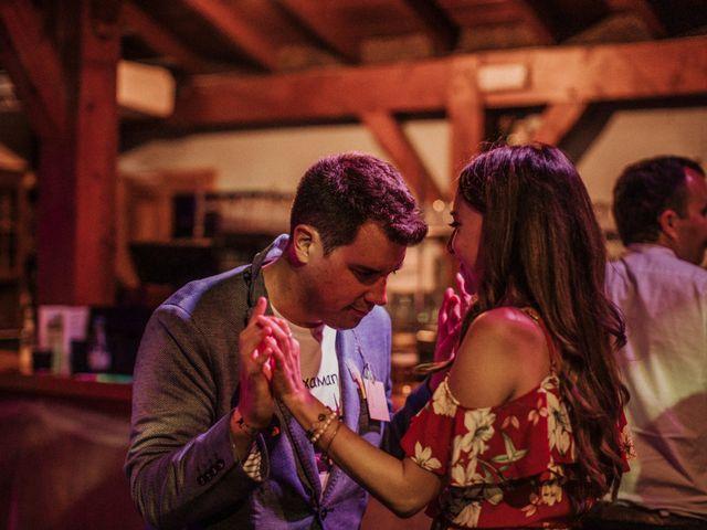 La boda de Daniel y Delphine en Quejana, Álava 122